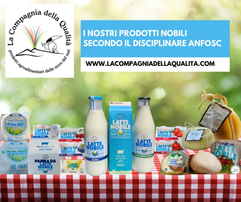 Prodotti Latte Nobile Compagnia della Qualità